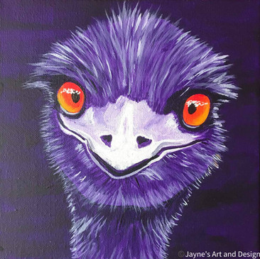 Hello Purple Emu