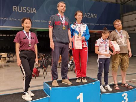 Золото на чемпионате России по спорту глухих (пулевая стрельба)