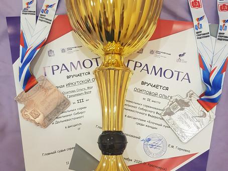 СФО и ДФО по стрельбе из лука в Красноярске: результаты наших спортсменов