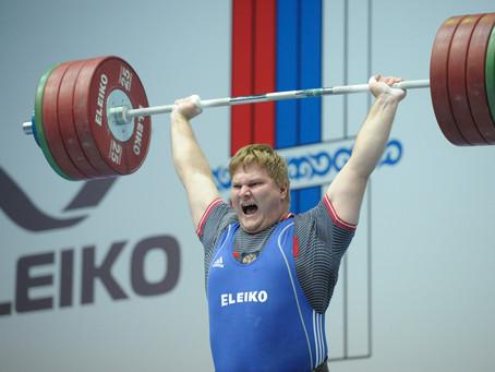 Юрий Ахмедьянов: бронза в толчке (204 кг) на Чемпионате России по тяжелой атлетике в Грозном