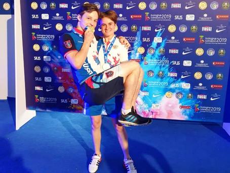 Надежда Колода завоевала медали на  первенстве Европы по стрельбе из малокалиберного оружия