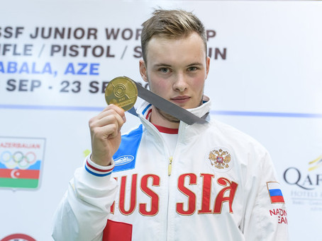 Артем Черноусов выиграл всероссийские соревнования