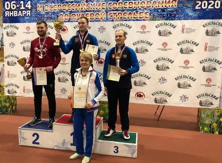 Артём Черноусов - чемпион России по стрельбе из пневматического пистолета