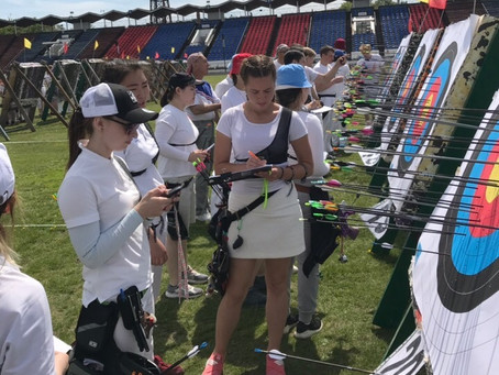 Чемпионат и первенство Иркутской области по стрельбе из лука прошли на стадионе Труд