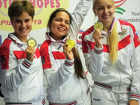 Надежда Колода выиграла международные соревнования в Чехии