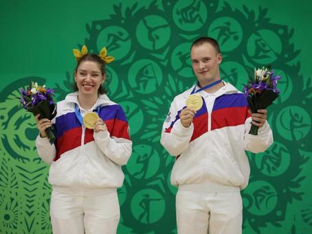 Артем Черноусов - три золота на Европейских играх в Минске!