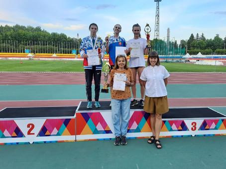 Две бронзы в финале V летней Спартакиады молодежи России по легкой атлетике
