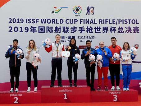 Артем Черноусов завоевал медали финала Кубка мира в Китае