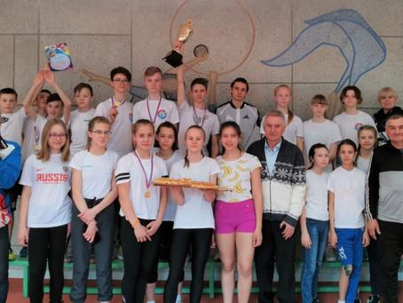 Матчевая встреча по легкой атлетике среди юношей и девушек 2006-2007, 2008-2009 гг.р.
