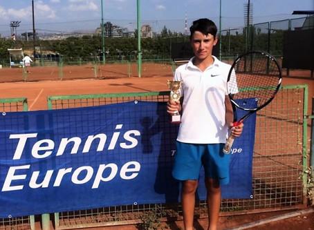 Максим Лавыгин выиграл международный теннисный турнир в Армении.