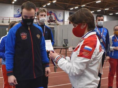 Артем Черноусов и Надежда Колода - золото на Всероссийских соревнованиях в Ижевске