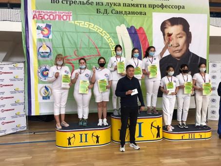 Всероссийские соревнования по стрельбе из лука памяти профессора Б.Д. Санданова