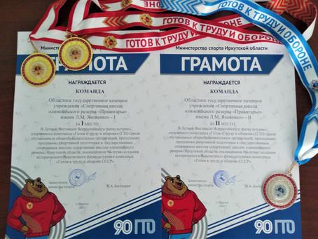 Летний фестиваль Всероссийского физкультурно-спортивного комплекса ГТО