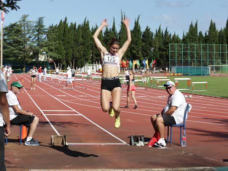 Лелякова Анна: бронза командного чемпионата России по многоборьям