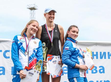 Мария Распутина: серебро первенства до 20-ти лет по легкой атлетике