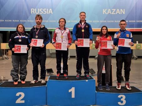 Надежда Колода и Артем Черноусов одержали победу на всероссийских соревнованиях в Казани
