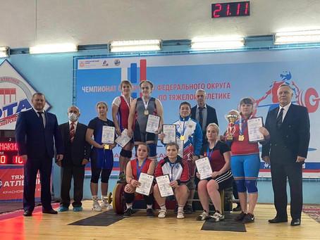 Результаты наших спортсменов на Чемпионате Сибирского Федерального округа по тяжелой атлетике