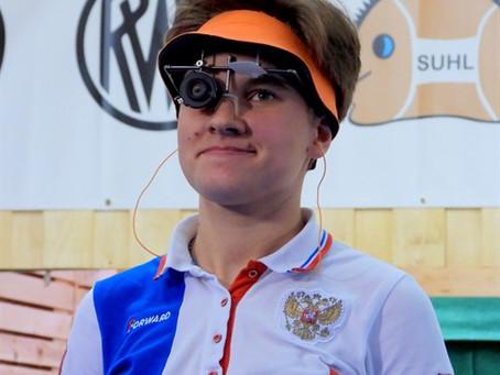 Надежда Колода - мастер спорта международного класса по пулевой стрельбе!