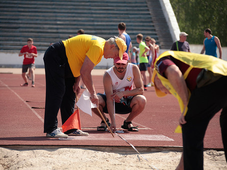 Алексей Щибун завоевал три медали на первенстве России среди слабовидящих
