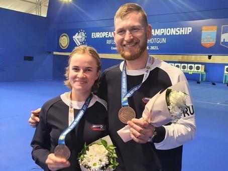 Надежда Колода - бронзовый призер чемпионата Европы