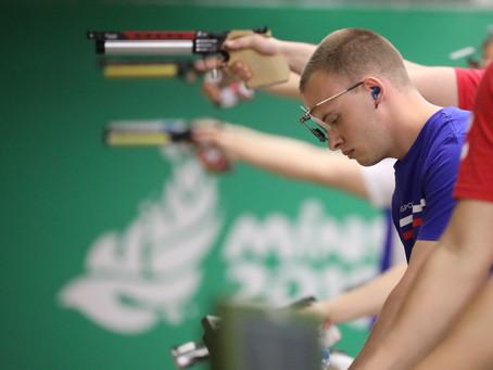 Первые результаты на Всероссийских соревнованиях по пулевой стрельбе