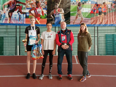 Всероссийские соревнования по легкоатлетическим многоборьям: результаты наших спортсменов