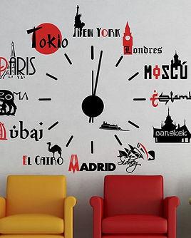 Vinilo_decorativo_#759#_RELOJ_CIUDADES_D