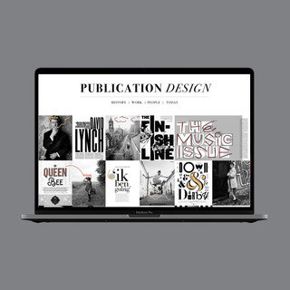 history of publication design