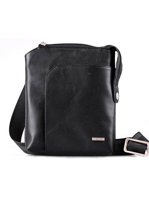 чёрная кожаная сумка мужская