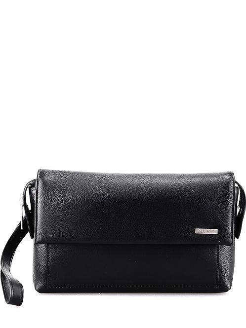 Чёрная сумка на руку r.blake