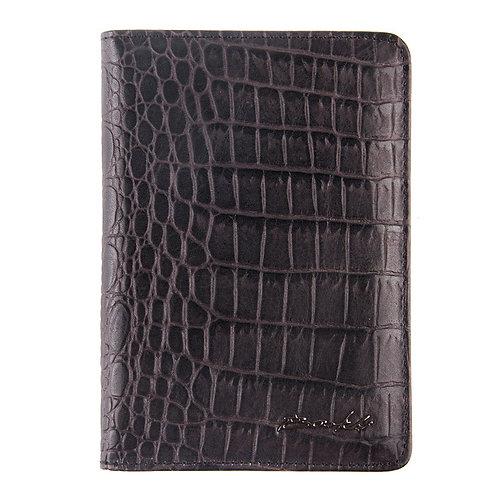 Обложка для паспорта и автодокументов - 00019-A297 black Br