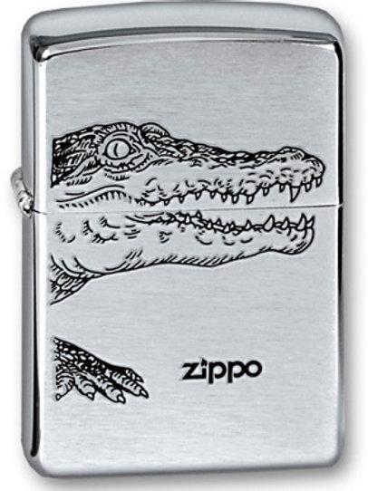 зажигалка zippo крокодил