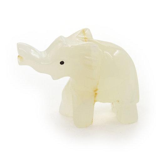Маленький слон из оникса