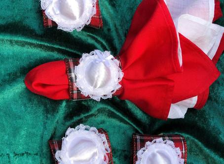 Easy Christmas Napkin Rings