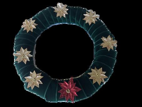 Pretty, Simple Holiday Wreath