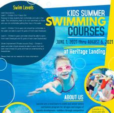 Swim Lesson Season