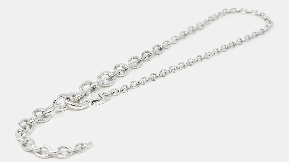 Y Necklace Oval Chain
