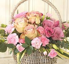 Lovingly Arranged Pot or Basket