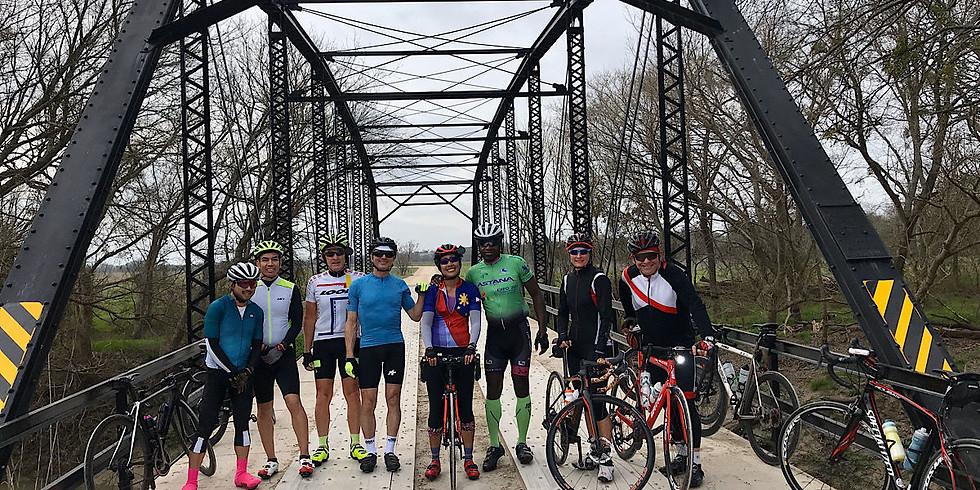 GROUP RIDE: New Route Alert - The Old Suspension Bridge Route