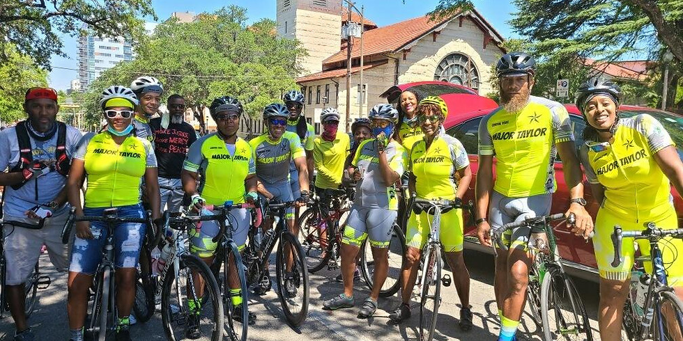 Major Taylor Texas All-Cities Ride Weekend