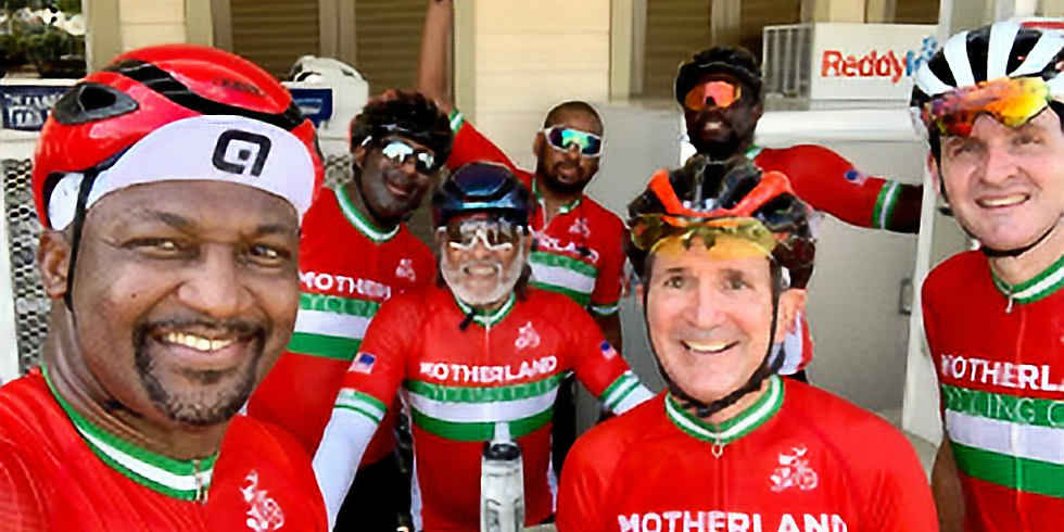 The Bridging the Gap Ride - sponsored by the Motherland Cycling Club