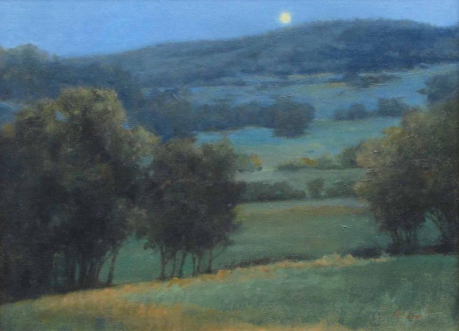 Moonlit Hills