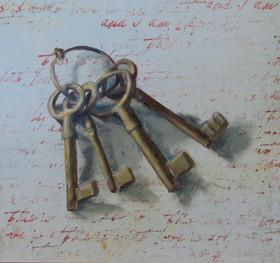 Old Keys  SOLD