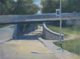 Heading West (Duke Bridge)  9x12