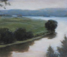 Connecticut River Reflection  4x5