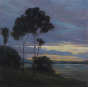Twilight over the Bay   SOLD