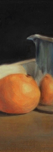 3. Reflection with Orange and Silver cop