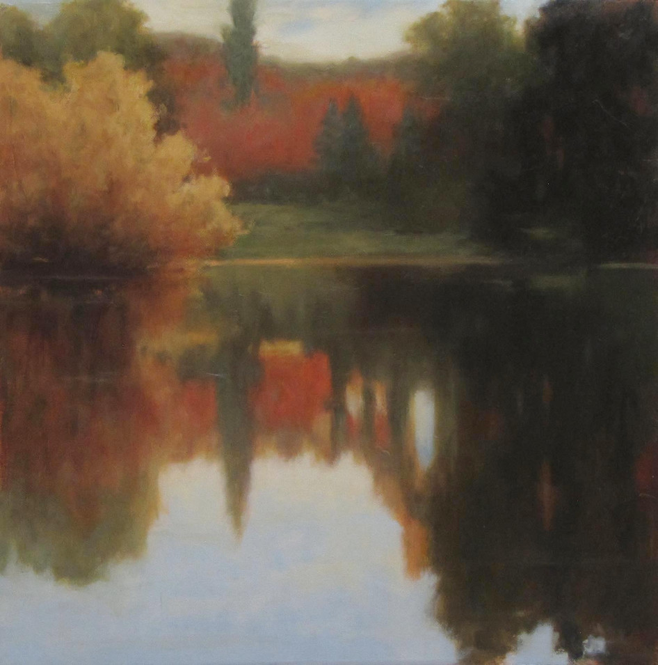 Autumn Reflection  20x20