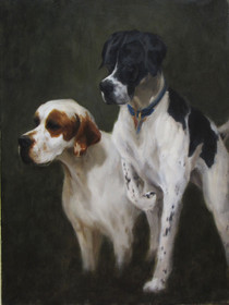 Lilly and Briggs  16x20