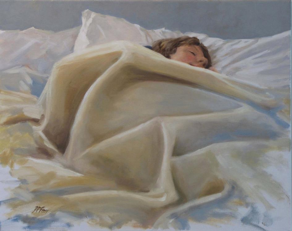 Late Morning Slumber  16x20